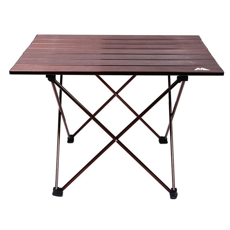 "Aluminium Camping Foldable Hard Top Table, ""Large"" size 57*40*40 cm"