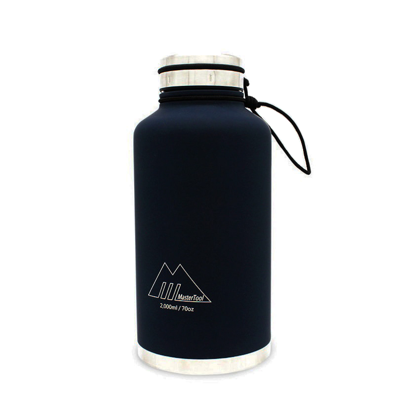 MasterTool - Double Wall Insulated Stainless Steel Vacuum Bottle - BPA Free