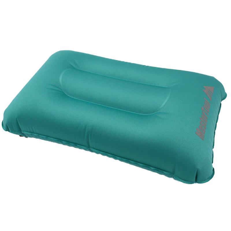 MasterTool - Ultralight Inflatable Camping Travel Pillow,peacock blue
