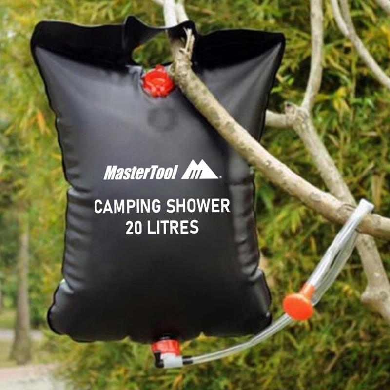 MasterTool - 20L Camp Shower,solar camp shower