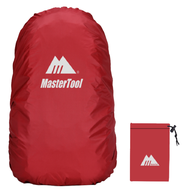 MasterTool - Backpack Cover, Water Resistance, 45L - Red