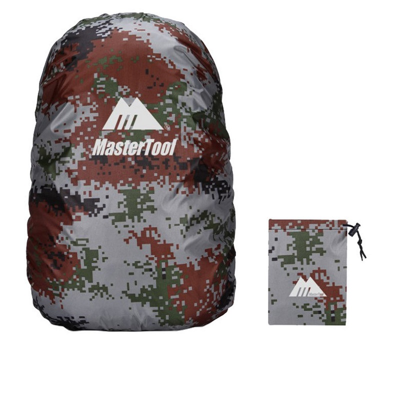MasterTool - Backpack Cover, Water Resistance, 45L - Camo