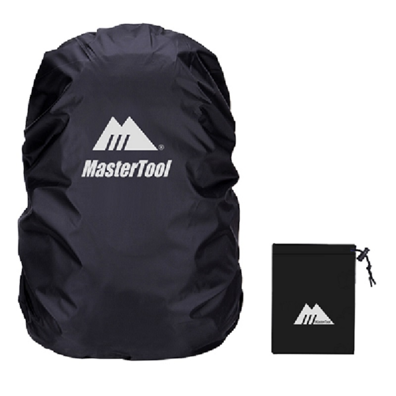 MasterTool - Backpack Cover, Water Resistance, 60L - Black
