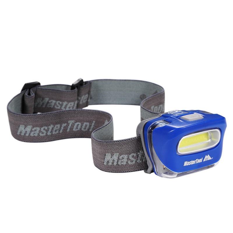 MasterTool - 120 Lumen COB Headlamp, Blue