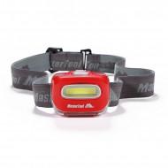 MasterTool - 120 Lumen COB Headlamp, Red