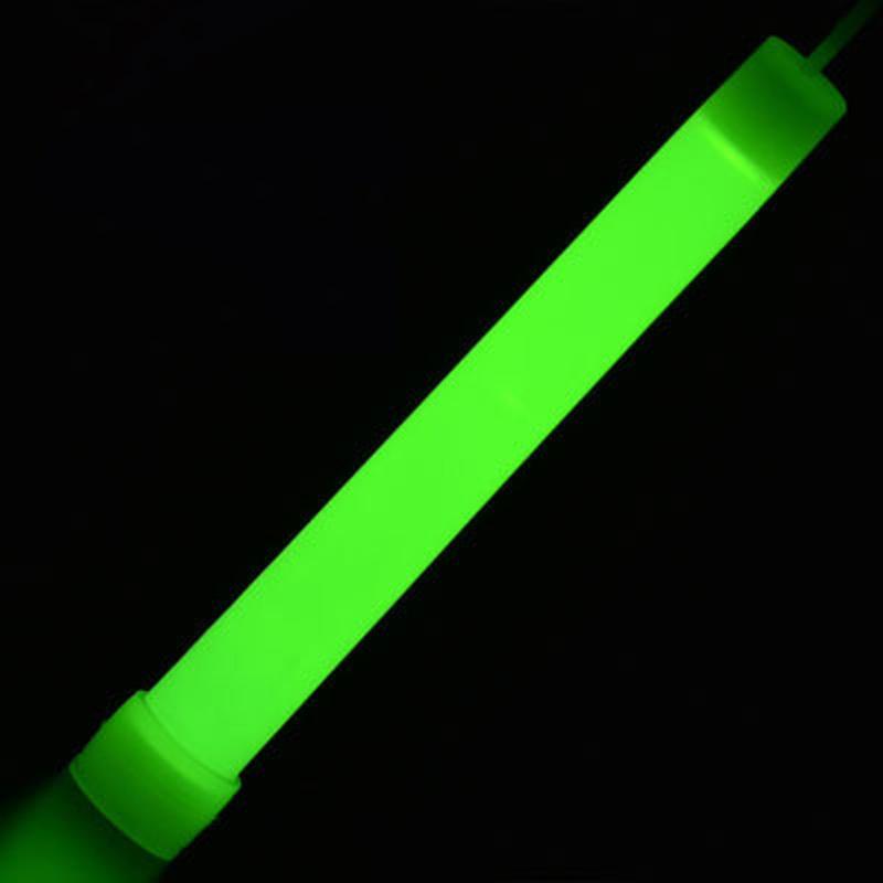 MasterTool - 6 inch light stick, Glow Stick with Lanyard, Green,(2pcs/pack)