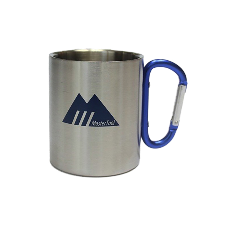 MasterTool - MT stainless steel double wall cup-blue