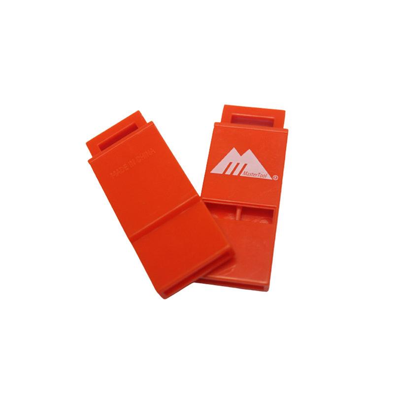 MasterTool - 100dB Silm ultralight Floatable whistle,2pcs/set