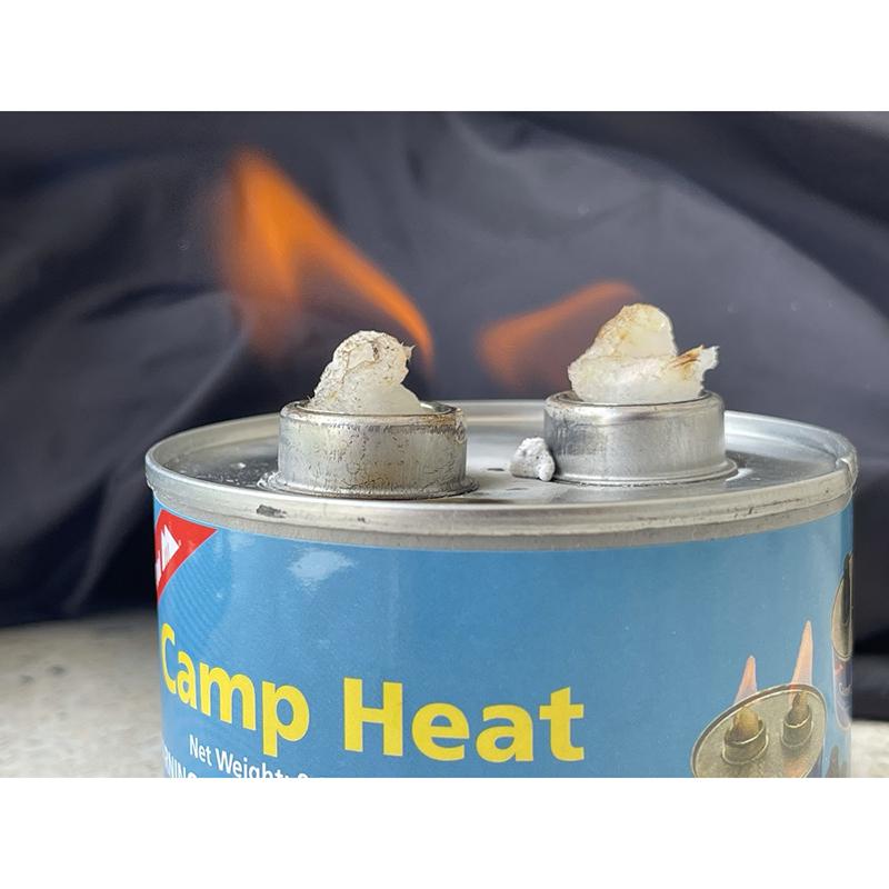 MasterTool - Camp Heat Can Fire - 2pcs/set